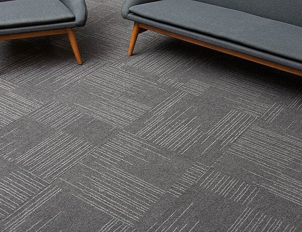 Carpet tiles offers a wide range of textures and colors. Contact us for a free estimate!