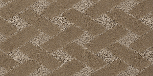 Pattern carpet's distinct appearance and texture can add a designer quality to any home.