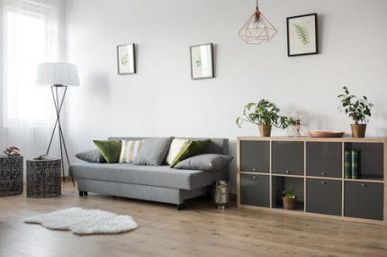 Hardwood floor installation at Simple Flooring Company