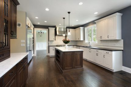 Hardwood sanding and refinishing services by Simple Flooring Company