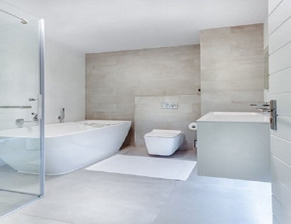 Vinyl tiles offers a wide range of styles and colors. Durability and very easy maintenance.