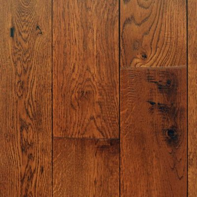 Hand-Scraped Oak Golden, Solid Hardwood Flooring. Wide selection of styles and colors.