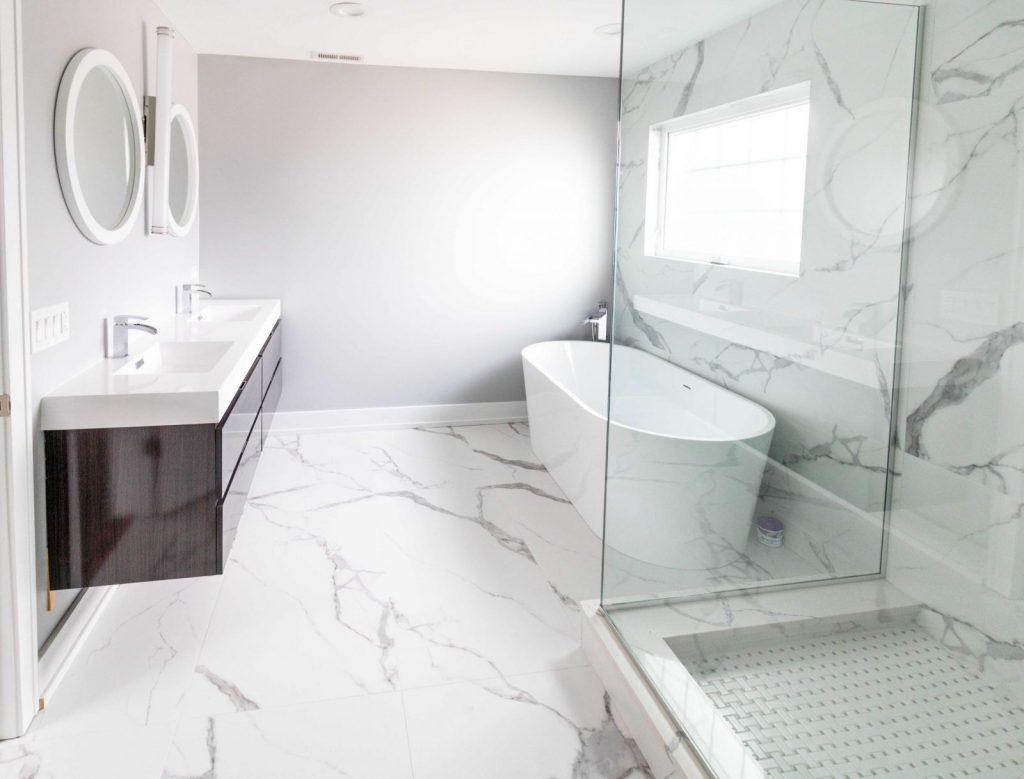 Bathroom Ceramic Tiles at Simple Flooring Company
