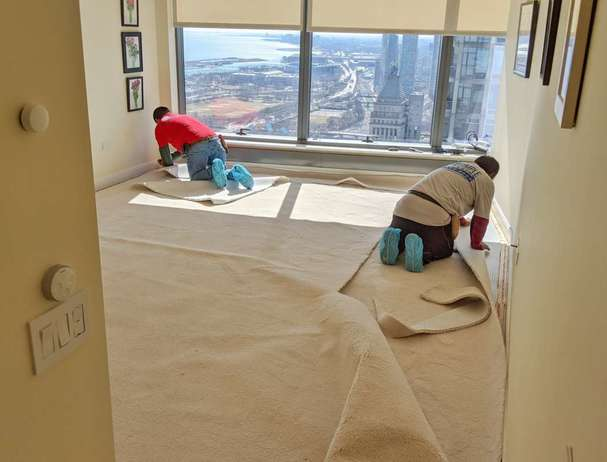 Carpet Installation with padding deal