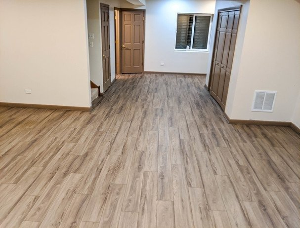 Luxury Vinyl Plank Gray at Simple Flooring Company