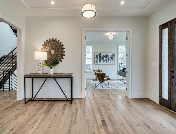 Hardwood oak flooring at Simple Flooring Company