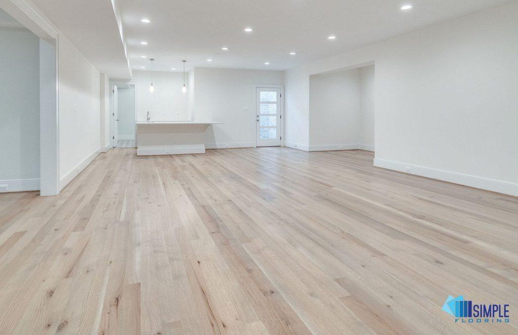Oak solid wood flooring at Simple Flooring Company