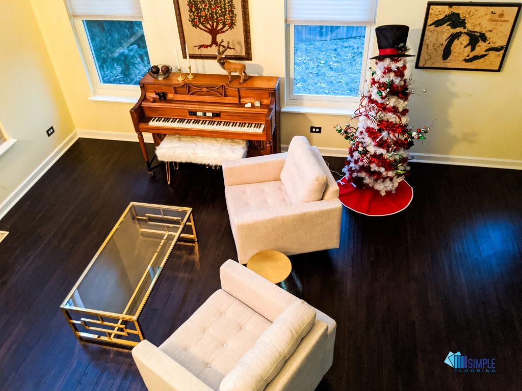 Solid java wood at Simple Flooring Company