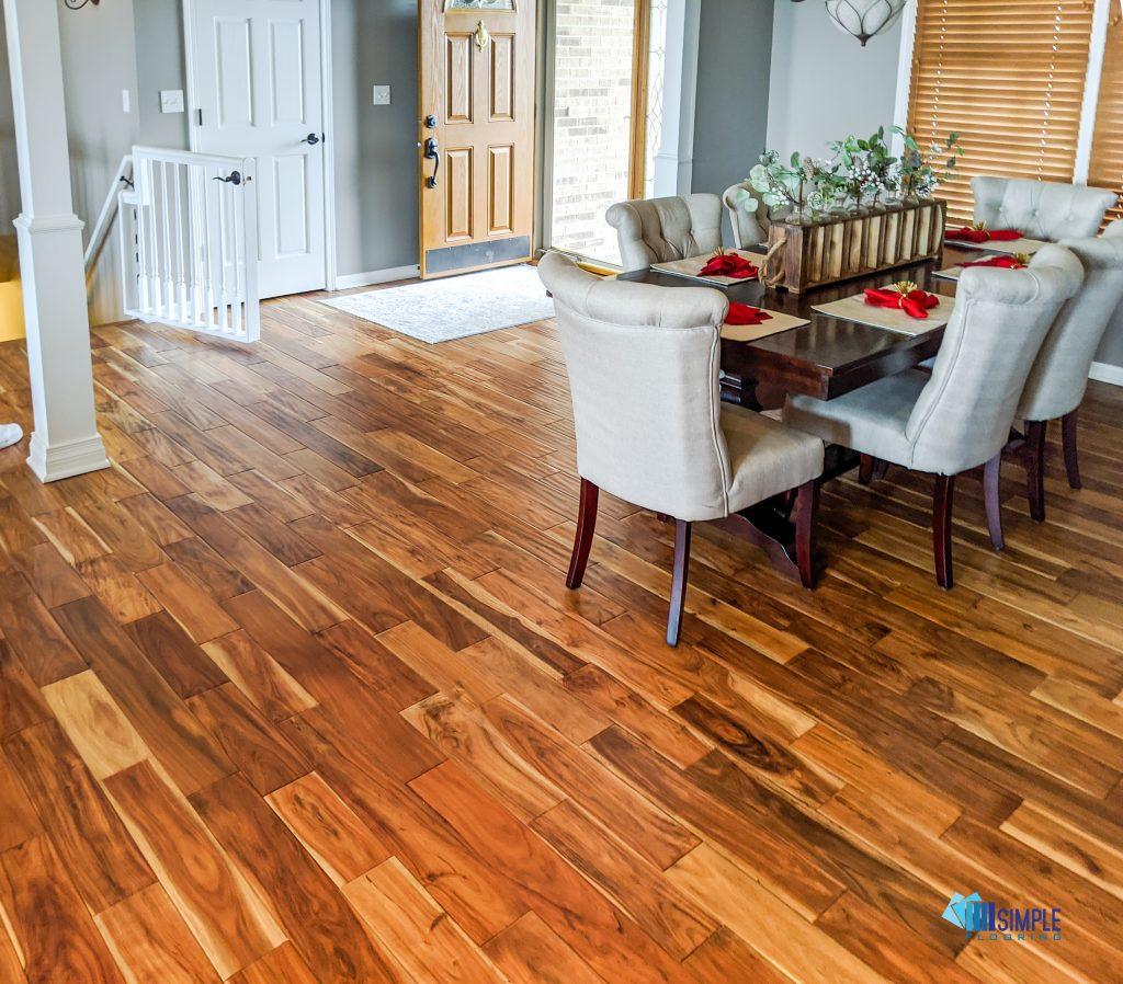 Acacia small leaf wood at Simple Flooring Company