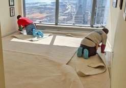 Simple Flooring Carpet installation