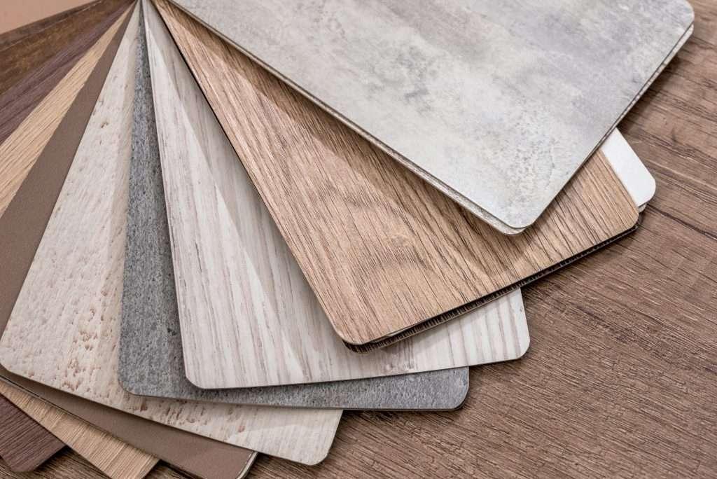luxury vinyl plank samples