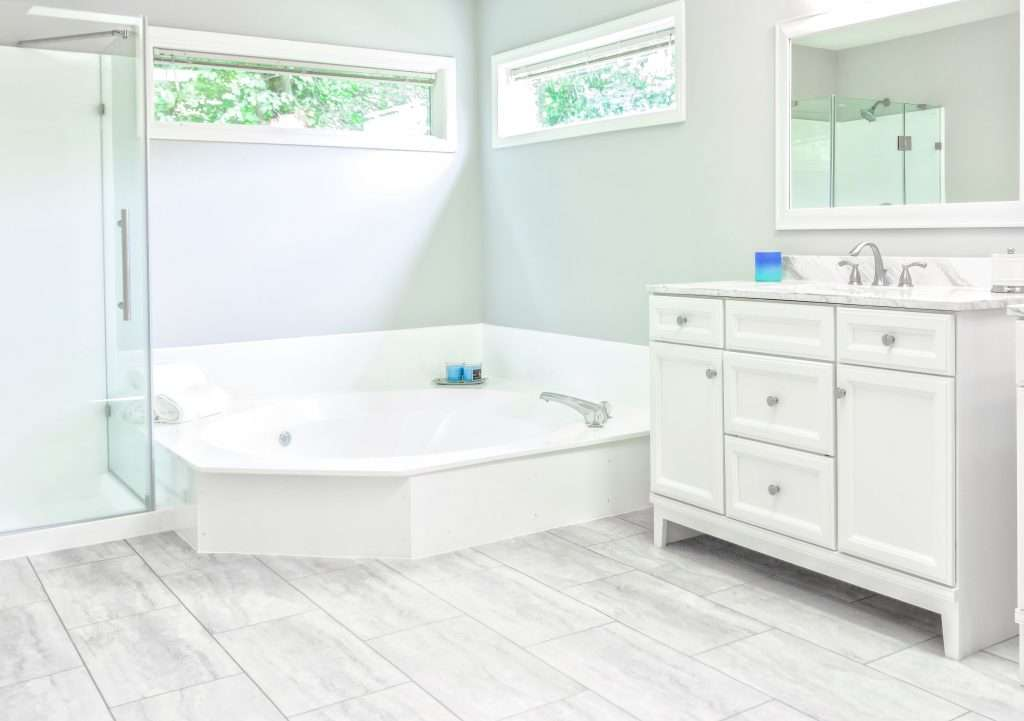 Vinyl Tiles are waterproof and offer high durrability